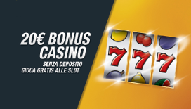Slot bonus senza deposito